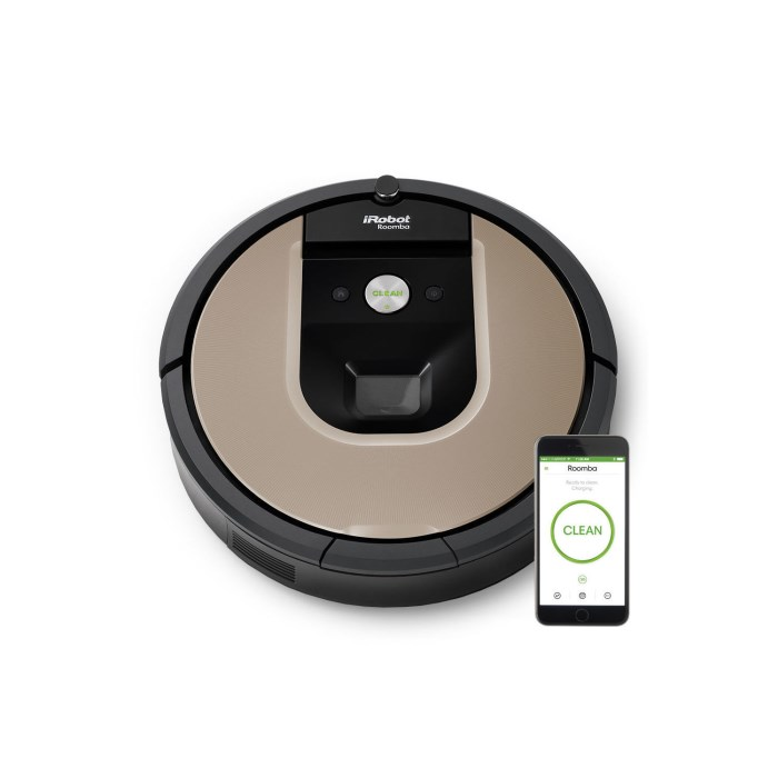 IRobot ROOMBA966 WIFI SMART Robot Vacuum Cleaner