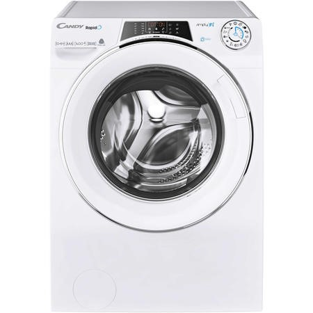 Candy ROW141066DWHC-80 Rapido 10+6 Freestanding Washer Dryer - White
