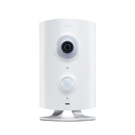 Piper HD 180º Fisheye Security Camera with Z-Wave in White