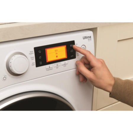 Hotpoint RPD10667DD Ultima S-Line 10kg 1600rpm Freestanding Washing Machine-White