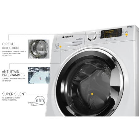 Hotpoint RPD8457J Ultima S-Line 8kg 1400rpm Freestanding Washing Machine White