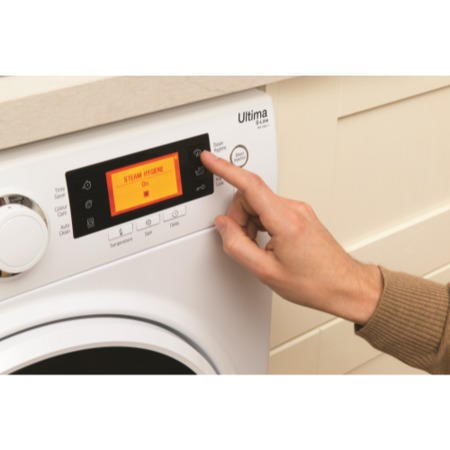 GRADE A1 - Hotpoint RPD9467J Ultima S-Line 9kg 1400rpm Freestanding Washing Machine White
