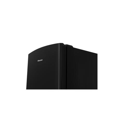Hisense RR220D4AB2 128x52cm 164L Freestanding Fridge With Icebox - Black
