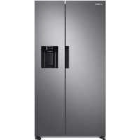 Samsung RS67A8810S9 7 Series Side-by-side American Fridge Freezer With Plumbed Ice And Water Dispenser - Silver Best Price, Cheapest Prices