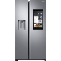 Samsung RS68N8941SL Side-by-side American Fridge Freezer With Ice And Water Dispenser - Silver Best Price, Cheapest Prices