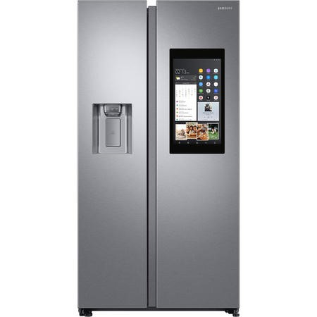 Samsung RS68N8941SL Side-by-side American Fridge Freezer With Ice And Water Dispenser - Silver