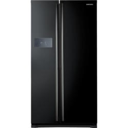 Samsung RS7527BHCBC H-series American Fridge Freezer With External Display - Gloss Black