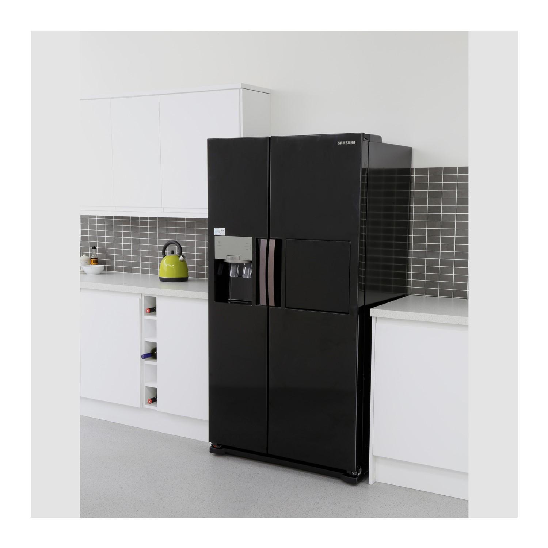 Samsung American Freezer Part - 43: Samsung RS7677FHCBC 543L American Freestanding Fridge Freezer - Black