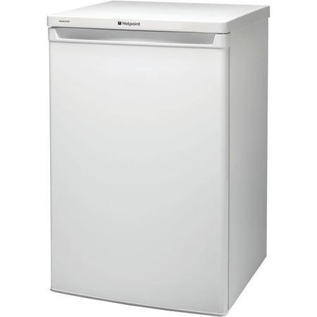 Hotpoint RSAAV22P1 55cm Wide Freestanding Under Counter Fridge With Freezer Compartment - White