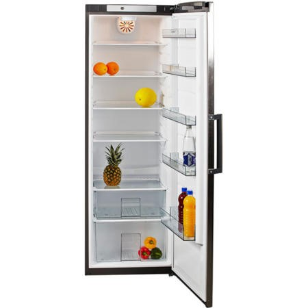 GRADE A2 - NordMende RTL396IXAPLUS 60cm Wide Freestanding Tall Larder Fridge - Stainless Steel