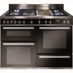 CDA RV1200SS 120cm Triple Oven Dual Fuel Range Cooker Stainless Steel