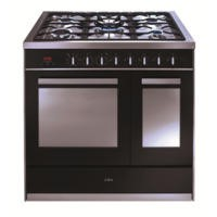 CDA RV921SS 90cm Wide Double Oven Dual Fuel Range Cooker - Stainless Steel