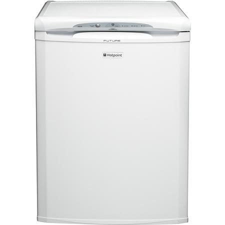 Hotpoint RZA36P1 90 Litre Freestanding Under Counter Freezer  60cm Wide - White