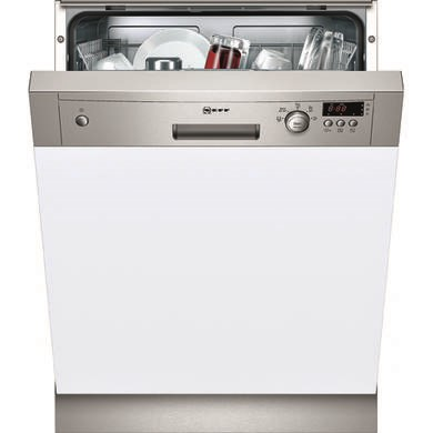 S41E50N0GB Neff S41E50N0GB Series 2 12 Place Semi Integrated Dishwasher