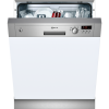 Neff S41E50N1GB 12 Place Semi-integrated Dishwasher With Stainless Steel Panel