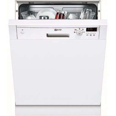 Neff S41E50W0GB Series 2 12 Place Semi Integrated Dishwasher