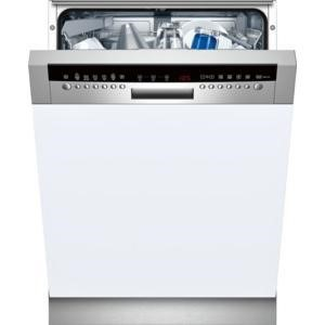 NEFF S42M69N0GB 13 Place Semi Integrated Dishwasher With Stainless Steel Panel