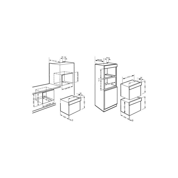 Smeg S45VCX2 Classic Compact Integrated Steam Oven