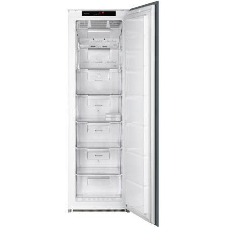Smeg S7220fndp 54cm Wide Frost Free Integrated Upright In