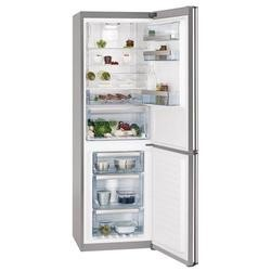 AEG S83520CMX2 A++ Frost Free Freestanding Fridge Freezer Silver With Stainless Steel Doors