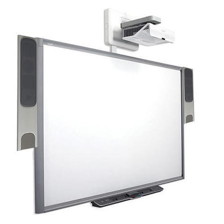 SMART Board M680 with U100 Projector and SBA-L Speakers