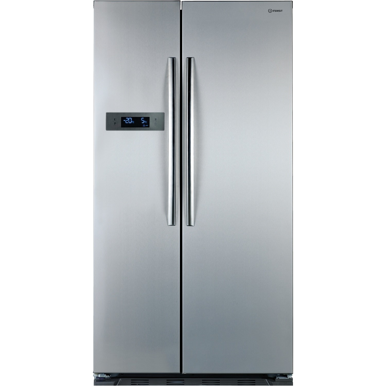 Best Side By Side Fridge >> Indesit SBSAA530SD Silver Side-by-side American Fridge Freezer | Appliances Direct
