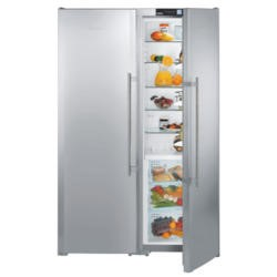 Liebherr SBSES7253 NoFrost BioFresh SmartSteel Side-by-side American Fridge Freezer