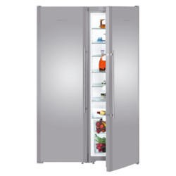 Liebherr SBSESF7212 NoFrost Side-by-side American Fridge Freezer With SmartSteel Doors