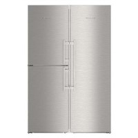 Liebherr SBSes8483 Premium BioFresh NoFrost Side-by-side American Fridge Freezer - Stainless Steel Best Price, Cheapest Prices