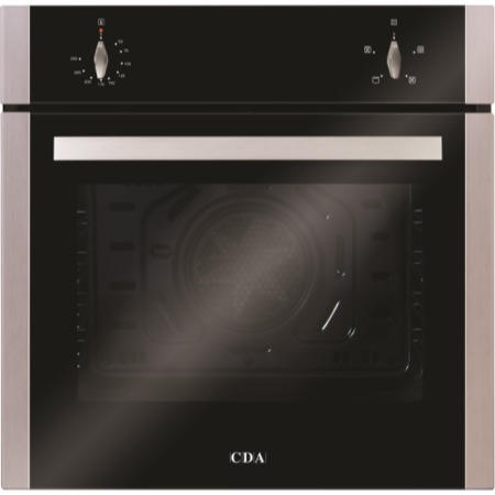 CDA SC212SS Four Function Electric Built-in Single Fan Oven - Stainless Steel