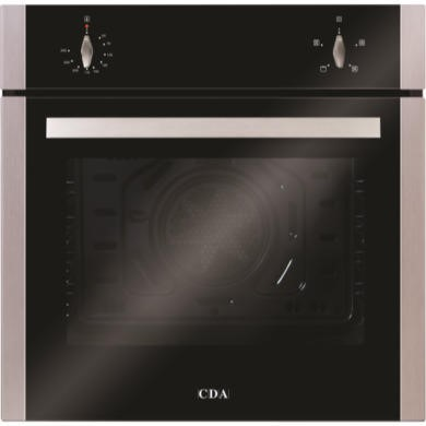 GRADE A1 - As new but box opened - CDA SC212SS Four Function Electric Built-in Single Fan Oven - Stainless Steel