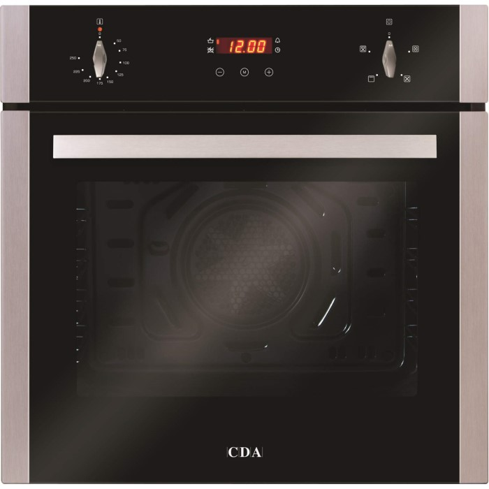 Cda sc222ss four function electric built in single fan oven with cda sc222ss four function electric built in single fan oven with touch control timer nvjuhfo Images