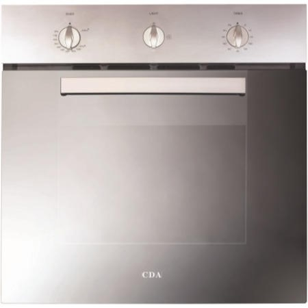 CDA SC310SS Gas Built-in Single Oven Stainless Steel
