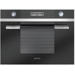 Smeg sc45mne2 60cm linea compact built in microwave oven for Small built in microwave oven