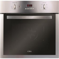 CDA SC511SS 6 Function Stainless Steel Electric Built-in Single Oven