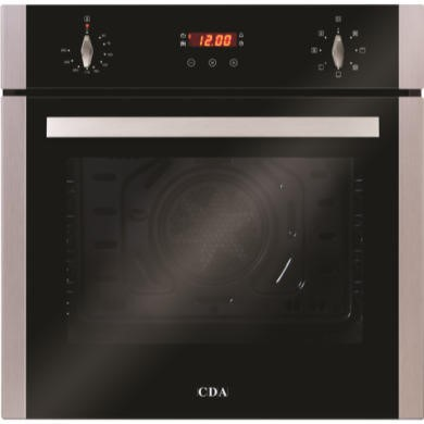 APD/SC612SS CDA APD/SC612SS SC612SS Seven Function Electric Built-in Single Fan Oven With Touch Control Timer - Stainless Steel