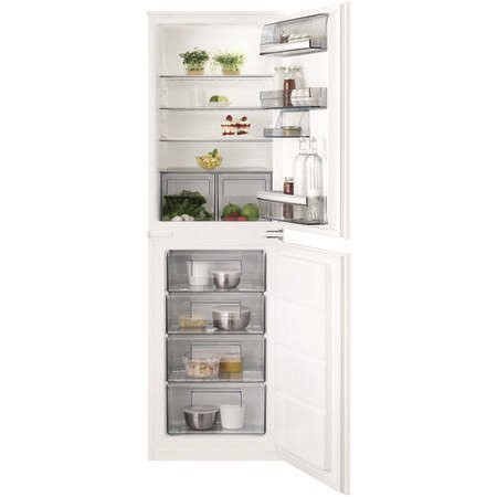 AEG SCB6181VLS 266 Litre Freestanding Fridge Freezer 50/50 Split Low Frost 54cm Wide - White