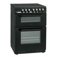 Servis SCF60K 60cm Double Oven Electric Cooker With Ceramic Hob - Black