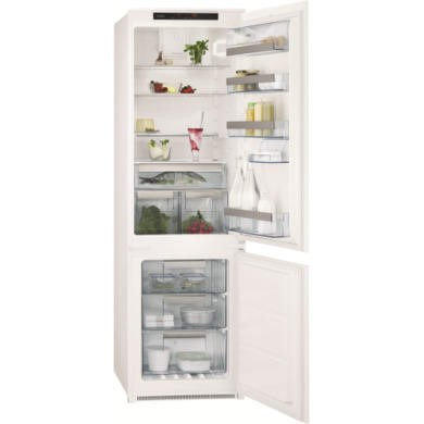GRADE A2 - Light cosmetic damage - AEG SCT71800S1 Frost Free Integrated Fridge Freezer
