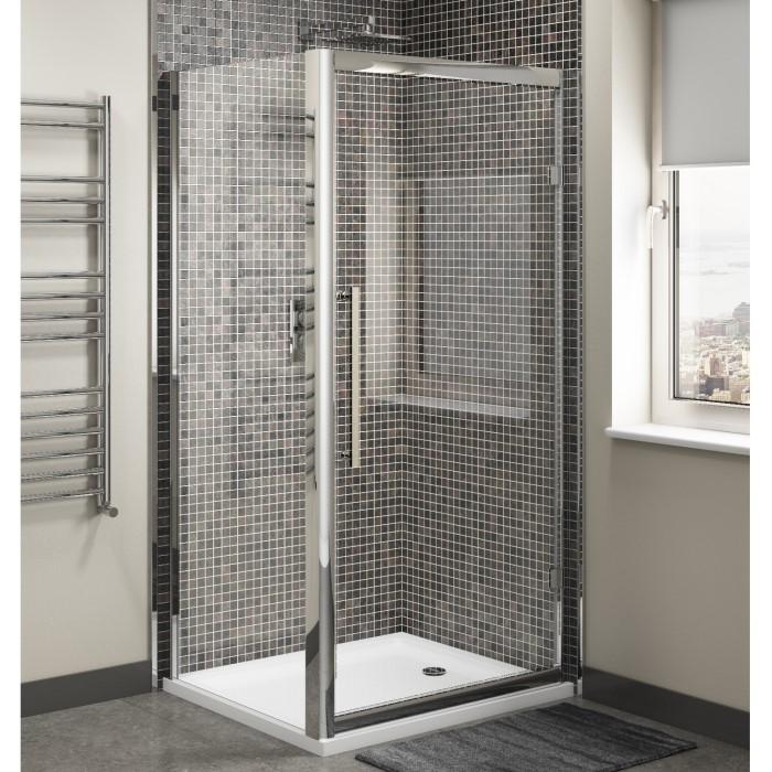 Claritas 8 Glass Sliding Shower Door 1000 X 1950mm 8mm Glass Sdr10
