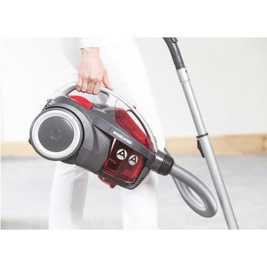 Hoover SE71_WR01002 Whirlwind 700W Cylinder Vacuum Cleaner Grey & Red