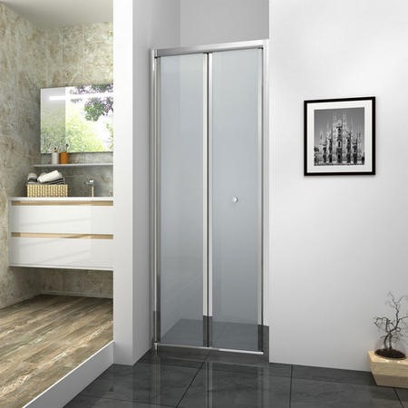 Bi-Fold Shower Door - 900 x 1850mm
