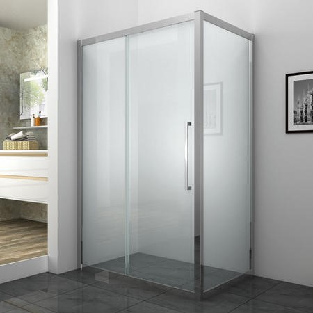 Shower Side Panel 760 x 1850mm - 6mm Glass - Taylor & Moore Range