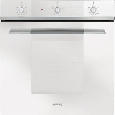 Smeg SF102GVB Linea Gas Fan Oven With Electric Grill White