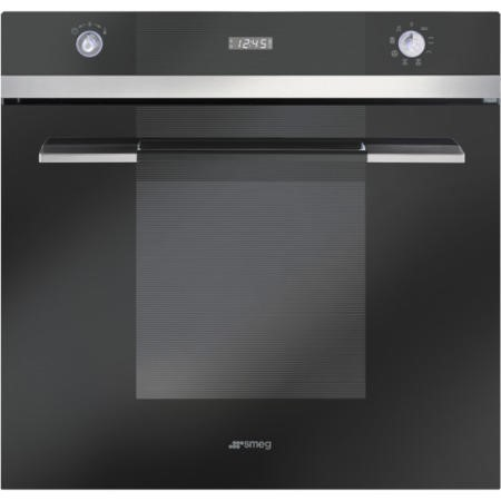 Smeg SF109N Linea Multifunction Electric Built In Single Maxi Oven - Black