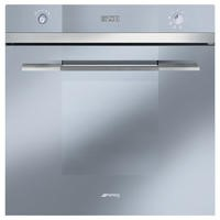 Smeg SF109S Linea Silver Multifunction Electric Built In Single Maxi Oven