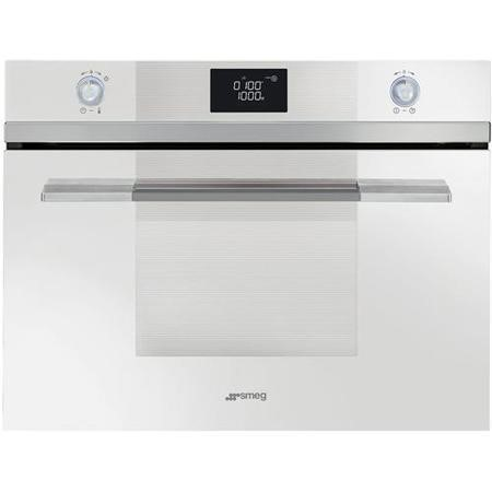 Smeg Sf4120mb Linea Compact Height Built In Microwave With