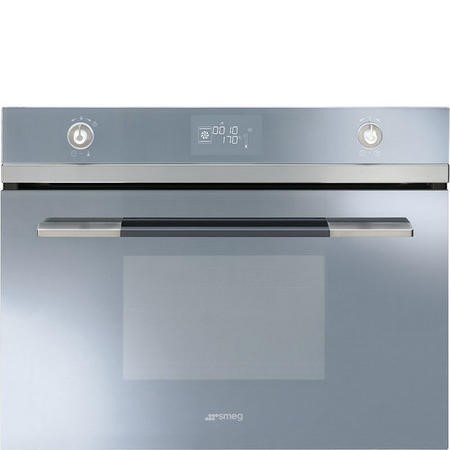 Smeg Sf4120vcs Linea Compact Combination Steam Oven Silver