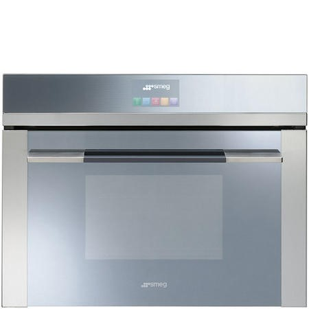Smeg SF4140VC Linea Touch Control 60cm Multifunction Compact Electric Single Oven - Stainless Steel