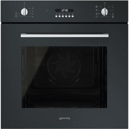 Smeg SF478N Cucina 60cm Multifunction Electric Single Oven  - Black